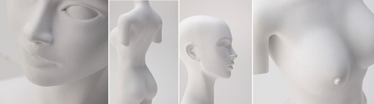 オリジナル美少女石膏像