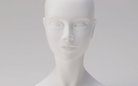 美少女石膏像 頭部